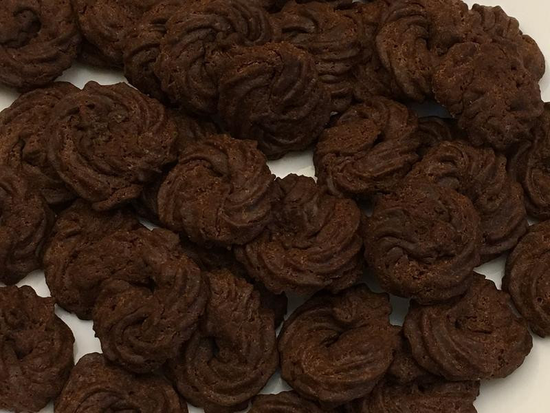 香濃巧克力擠花曲奇餅乾