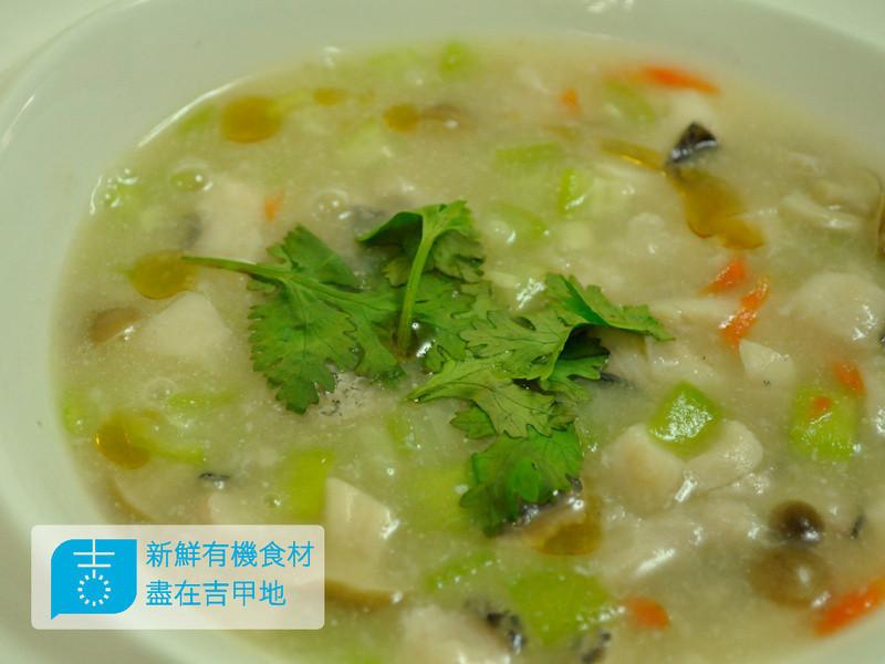 【吉刻美食】寧波風味-絲瓜鮮魚羹
