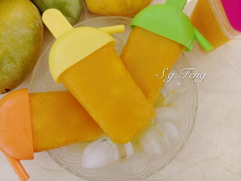 100%芒果冰棒