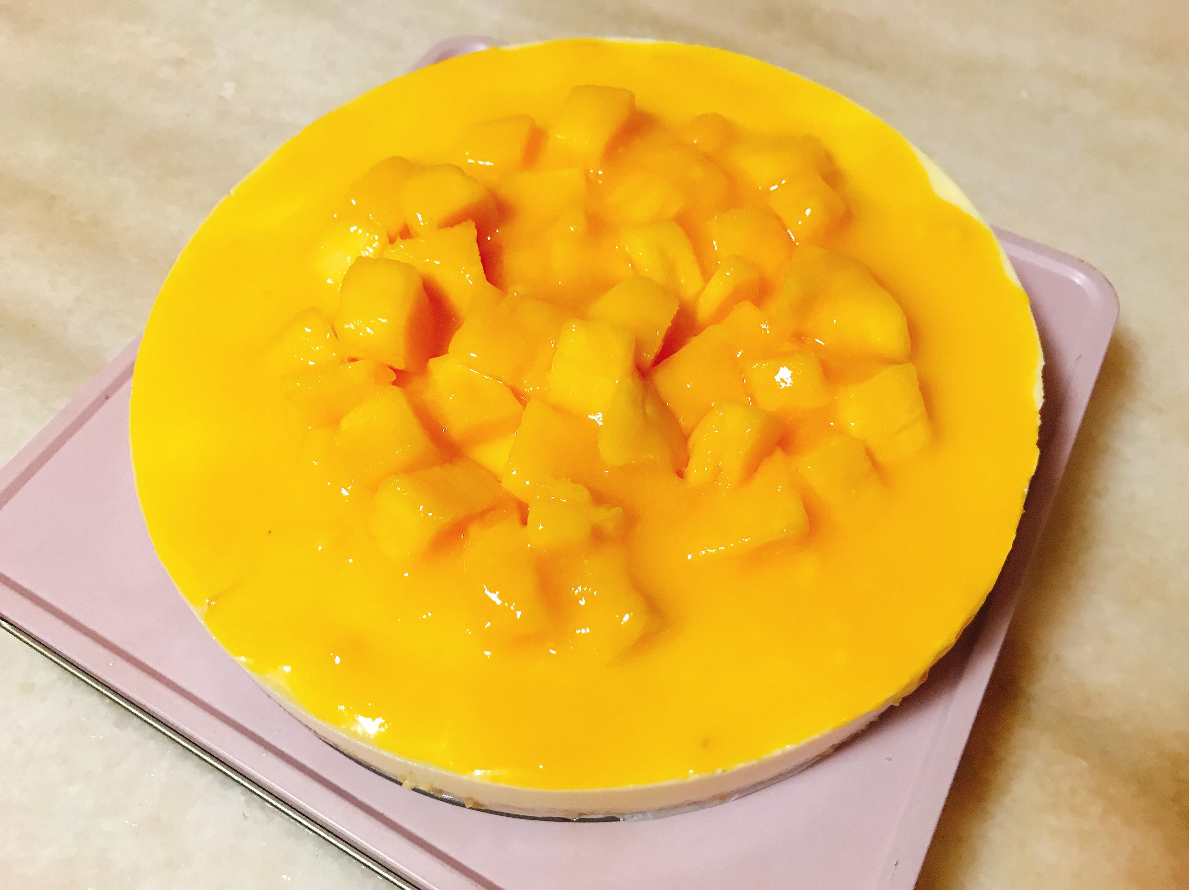 芒果輕乳酪蛋糕(6吋)