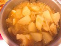 懶人料理!偽韓式大醬湯❤️味增+韓式辣醬