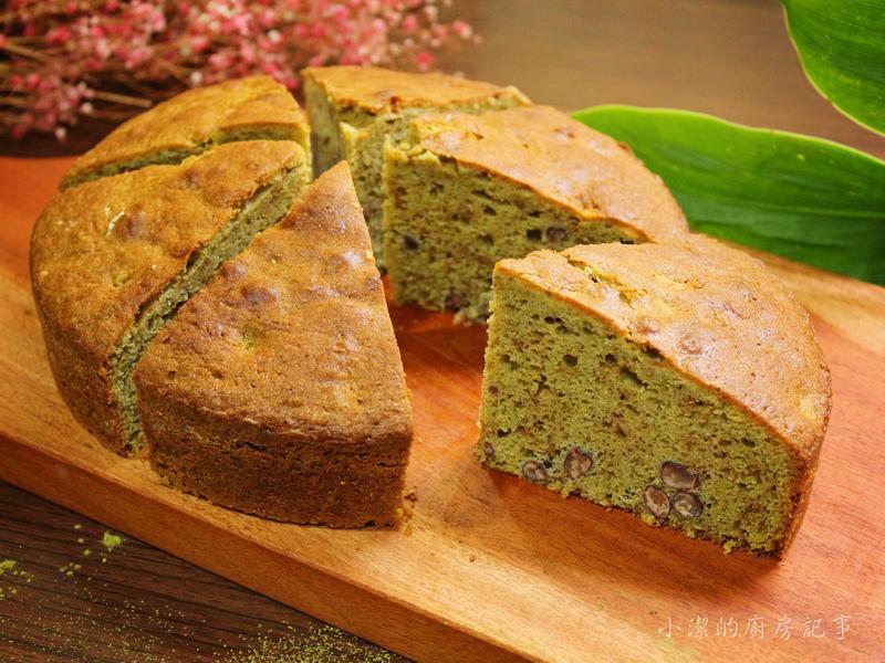 抹茶紅豆磅蛋糕