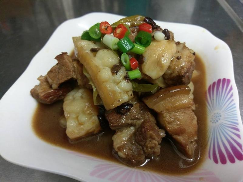 苦瓜豆豉滷豬肉