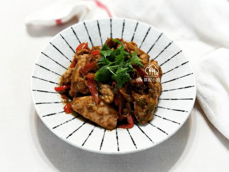 香葱芝麻醬雞肉