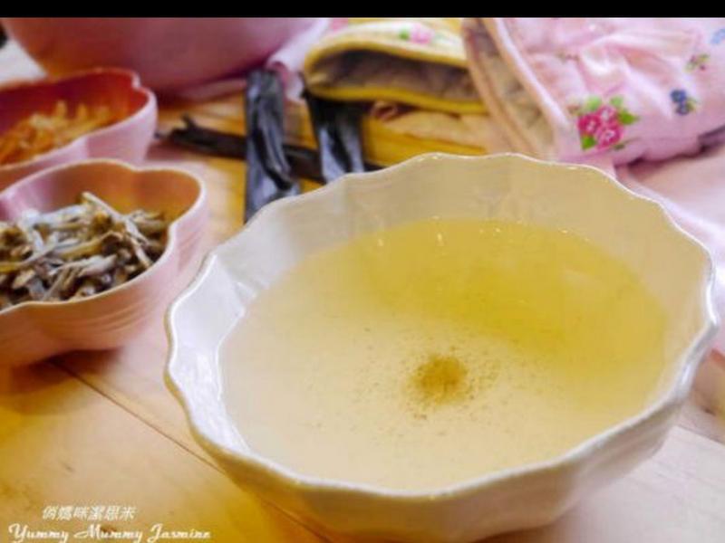 小魚高湯蔬菜粥(寶寶粥)12個月以上適用