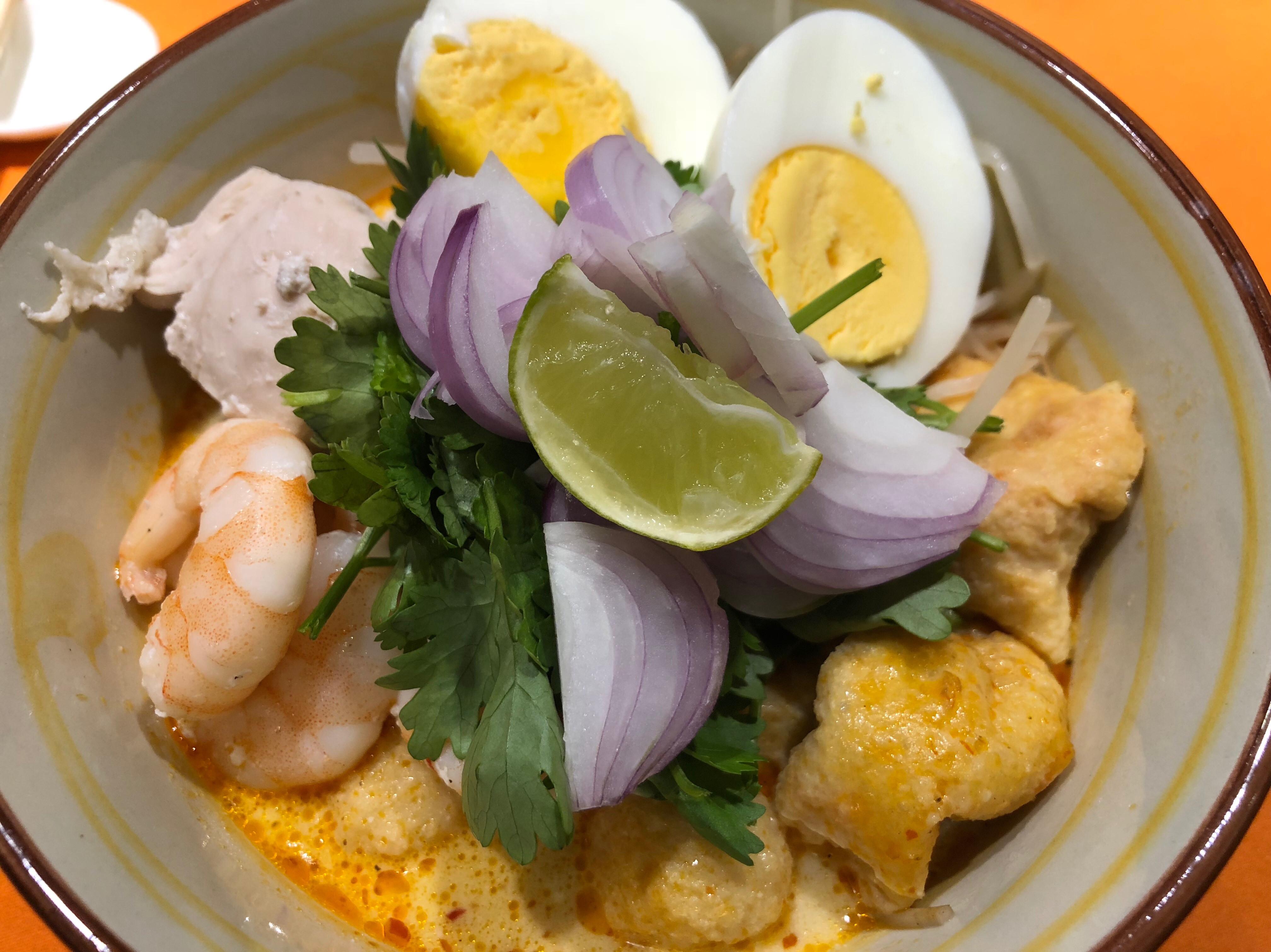 CDE-南洋叻沙拉麵Laksa「百勝廚」