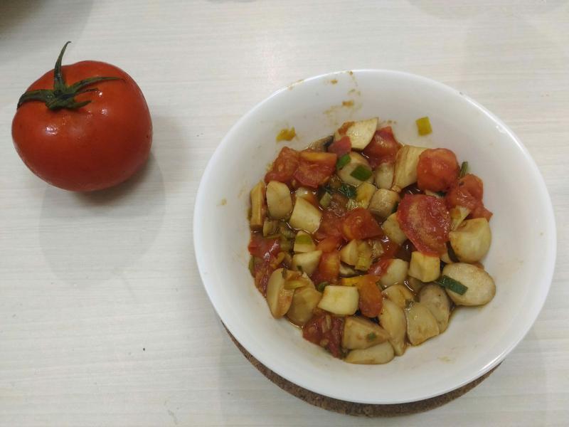 杏鮑菇蕃茄