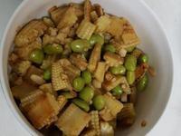 毛豆炒玉米筍