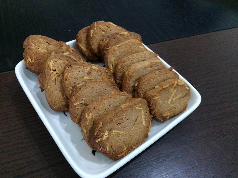巧克力杏仁餅乾(奶油減量)