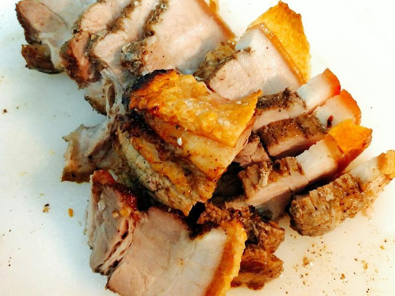 餐廳招牌簡單做-港式脆皮燒肉
