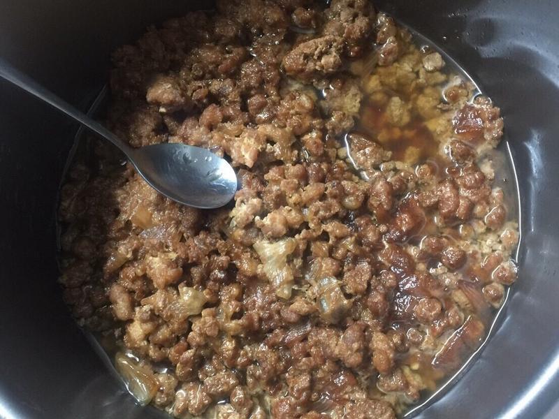 洋蔥滷肉燥