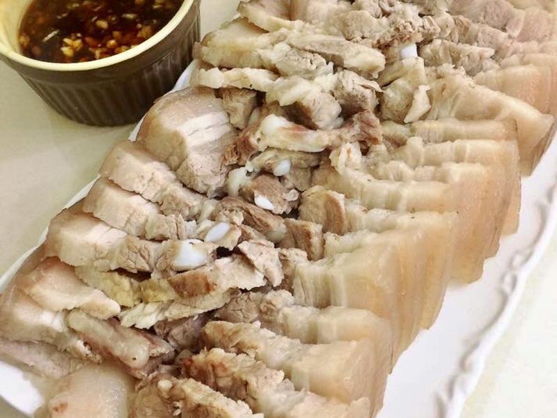 蒜泥白肉(鑄鐵鍋版)