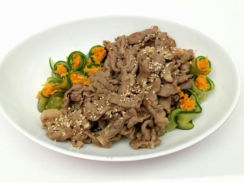 黃瓜炒肉片