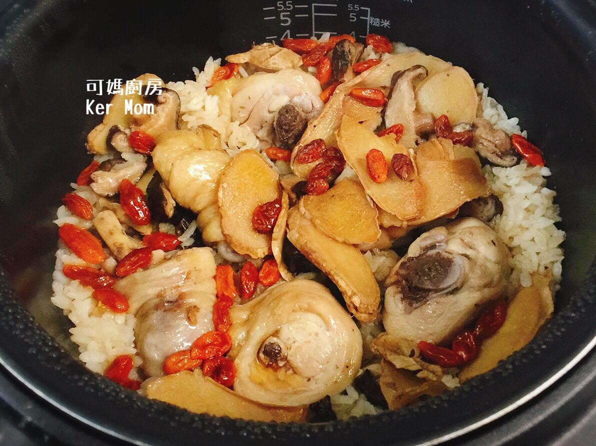 可媽廚房 附影片 阿嬤的麻油雞飯電子鍋版