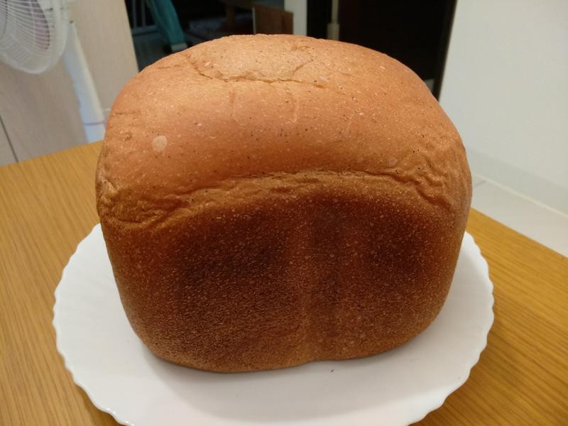 微粉紅火龍果乳酪吐司(麵包機)