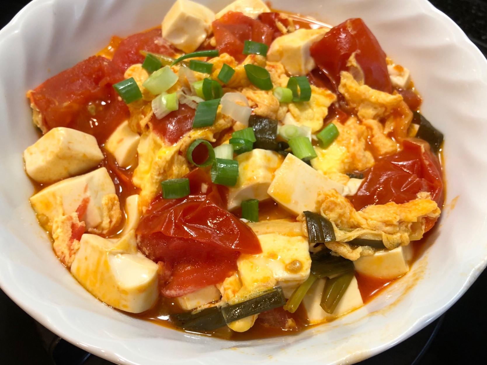 蕃茄豆腐蛋