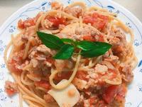 番茄🍅肉醬義大利麵