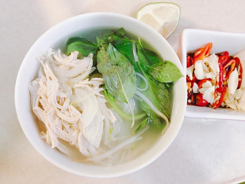越南雞絲河粉