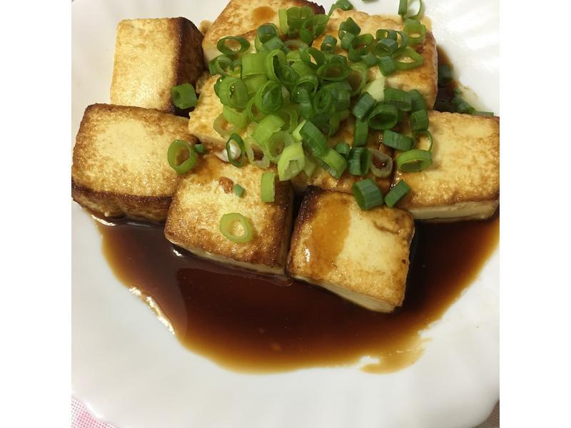 快速上菜系列~油煎雞蛋豆腐