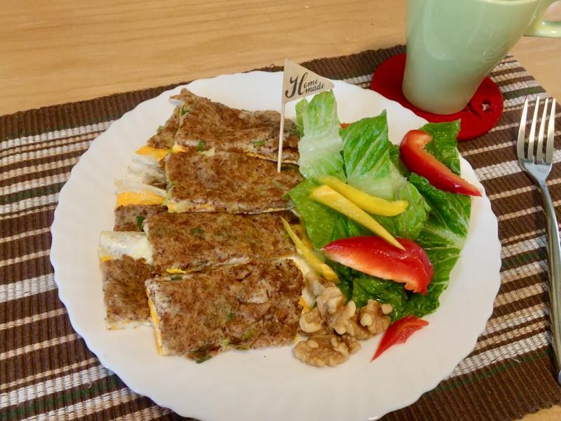 [生酮低醣餐]感動蔥油餅早餐