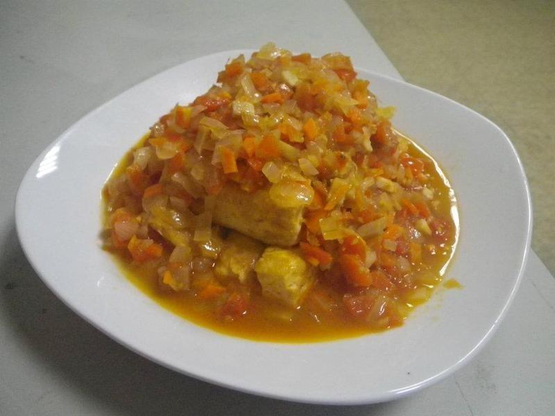 茄汁板豆腐