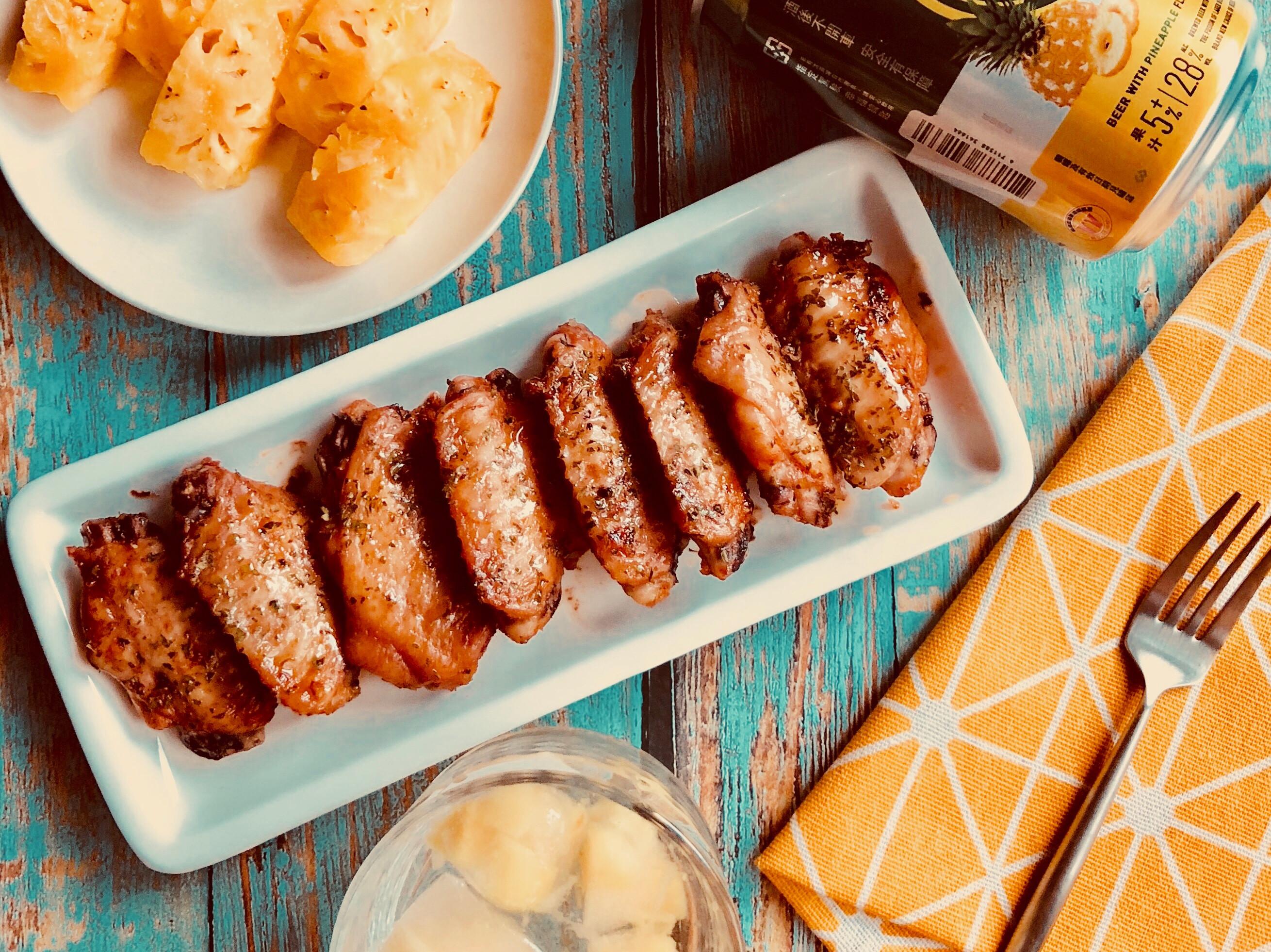 甜辣醬烤雞翅-手繪食譜