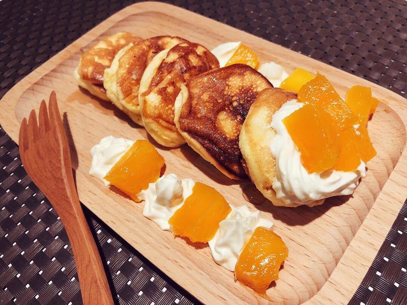 芒果蜂蜜舒芙蕾