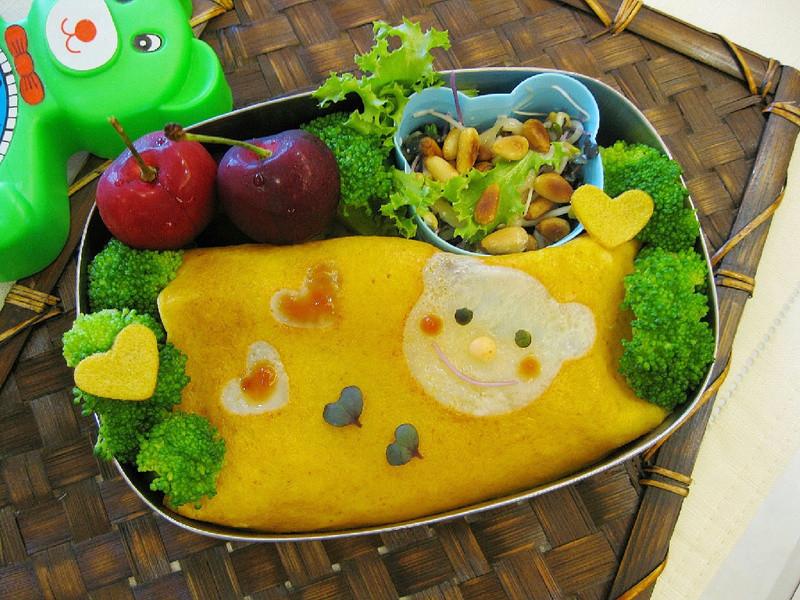 [親子食堂]--熊熊蛋包飯