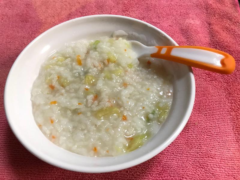 👨🏻🍳地瓜蔬菜粥-寶寶副食品