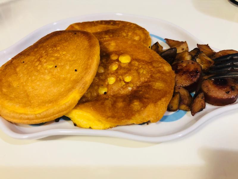 小兒科料理🍳雞蛋班戟🥞(無澱粉)