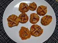 鬆餅機料理-軟Q南瓜球