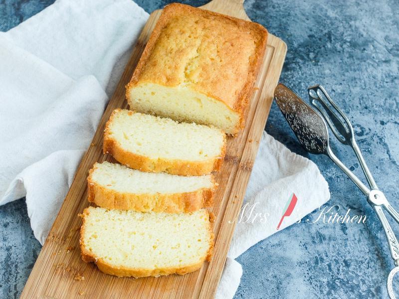 【影片】奶油磅蛋糕