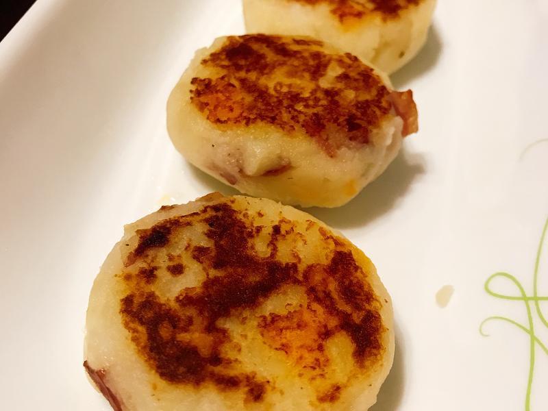 培根馬鈴薯起司餅