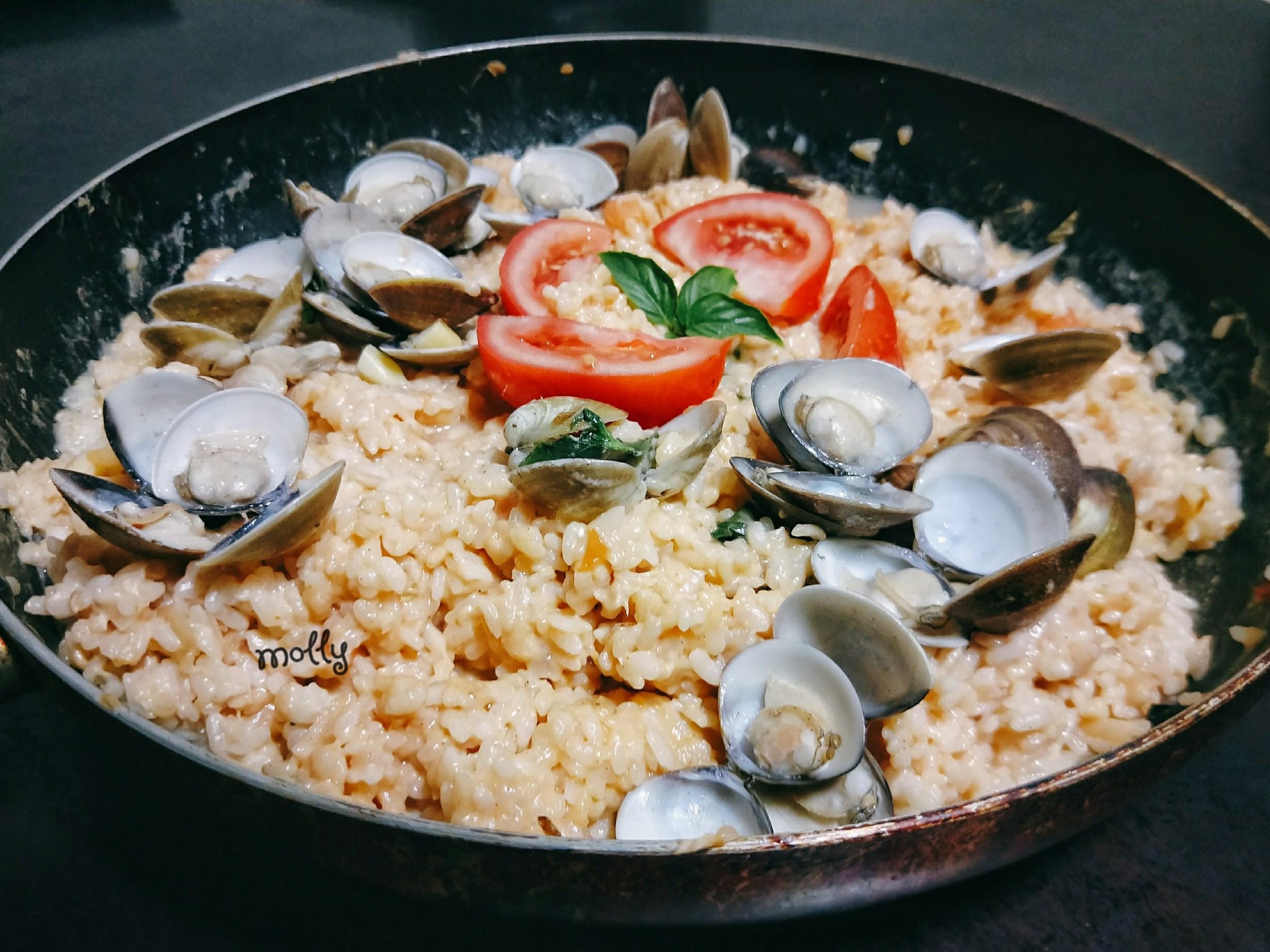 🇪🇸蛤蜊橘醬海鮮燉飯