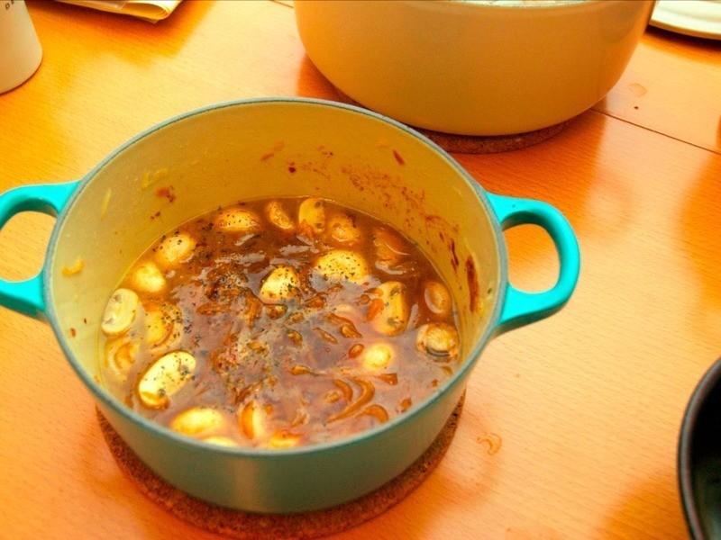 法式洋蔥湯燉蘑菇