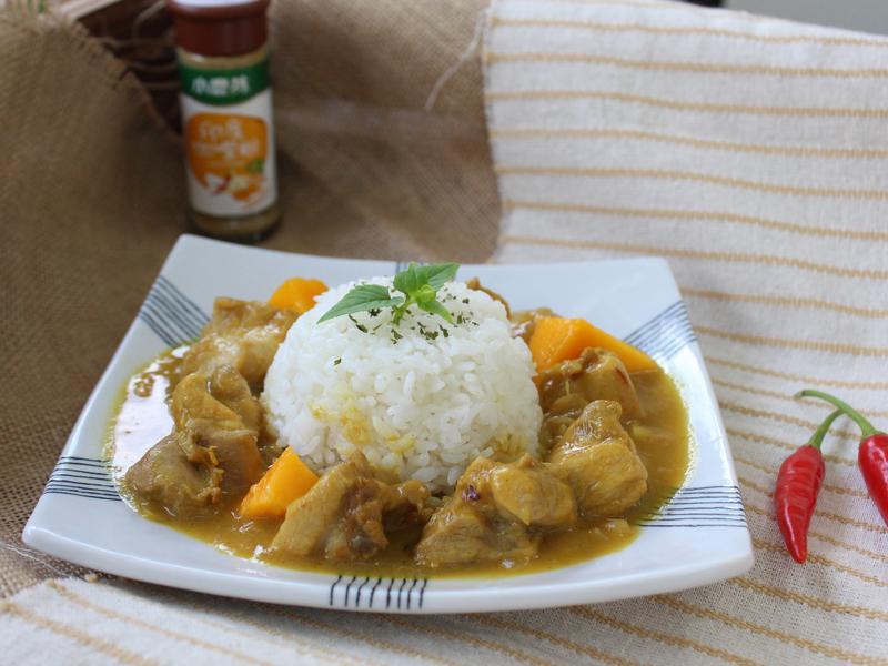 芒果雞肉咖哩