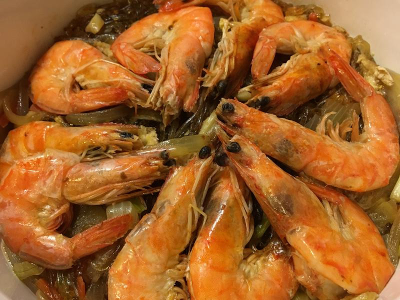 酒香鮮蝦粉絲