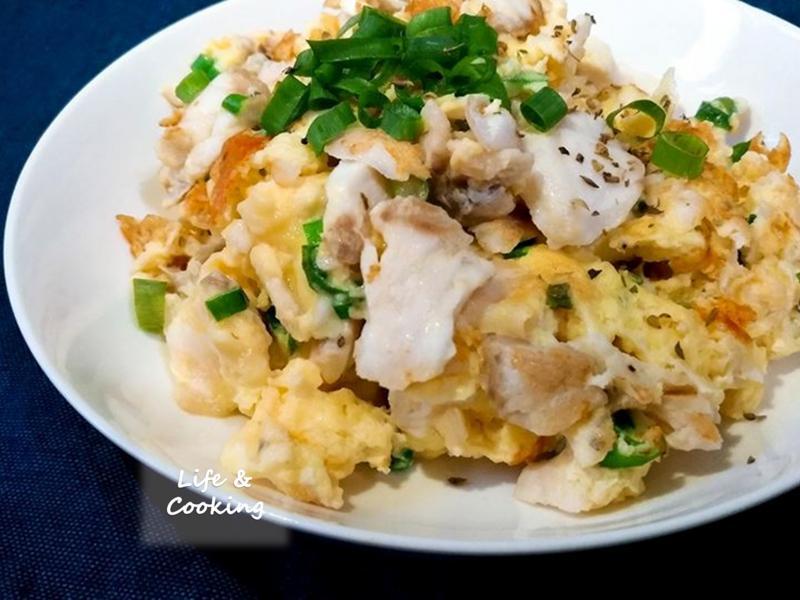 【家常菜】魚片炒蛋