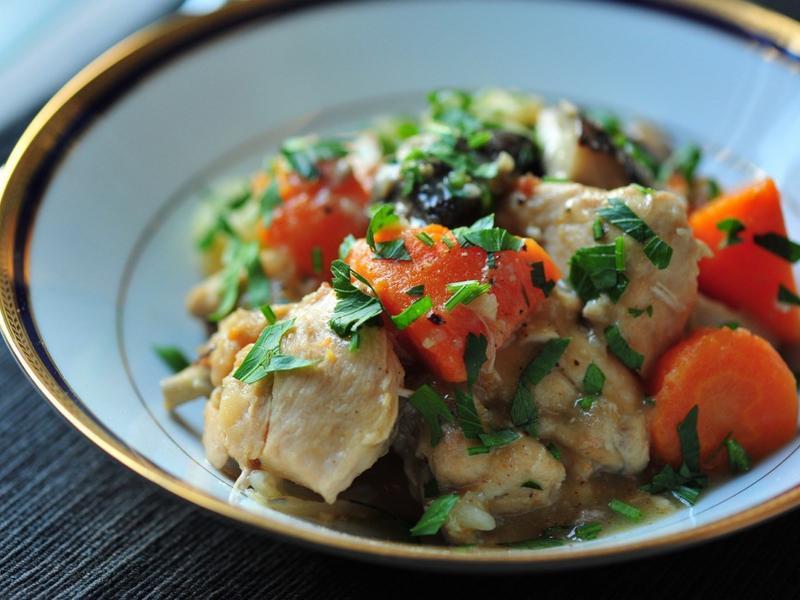 法式蔬菜燉雞