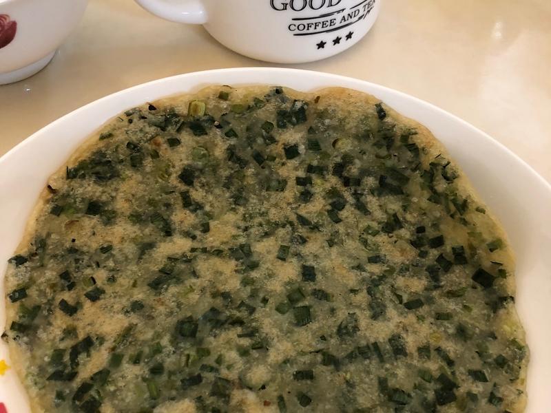 低碘飲食-韭菜蔥油餅