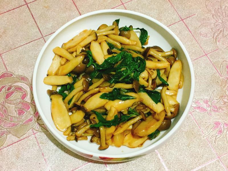 素食料理-三杯菇菇🍄