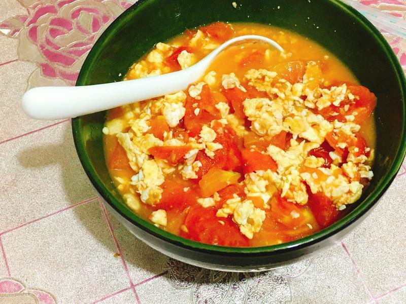 素食料理-番茄炒蛋(蛋素)