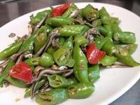 糯米辣椒炒小魚乾~低油下飯菜