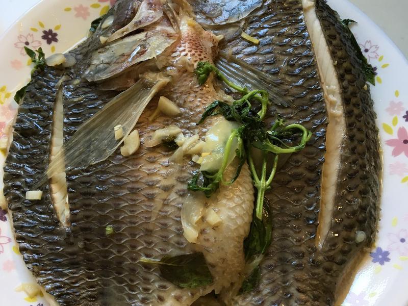 檸檬魚露煮魚