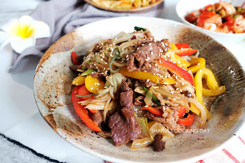 韓式牛肉鮮蔬拌蒟蒻
