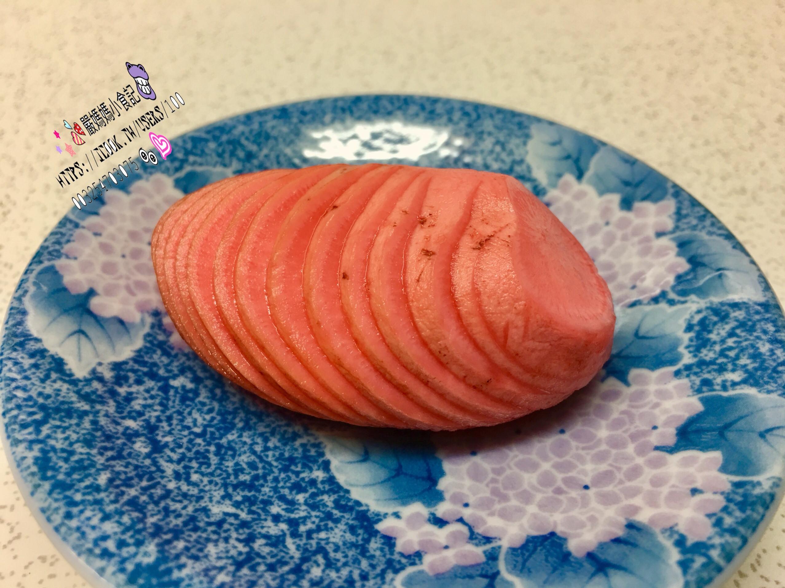 蓑衣糖醋櫻桃蘿蔔《二》🍒🍒🍒