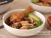 黑蒜雞湯麵_電子鍋料理