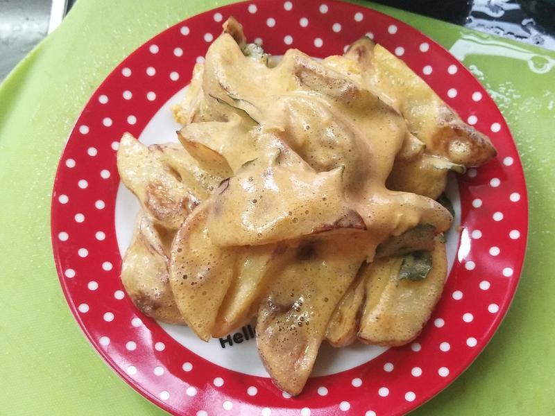 金沙薯块(减油版)