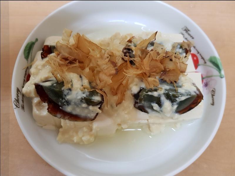 親子手作:涼拌雙蛋豆腐