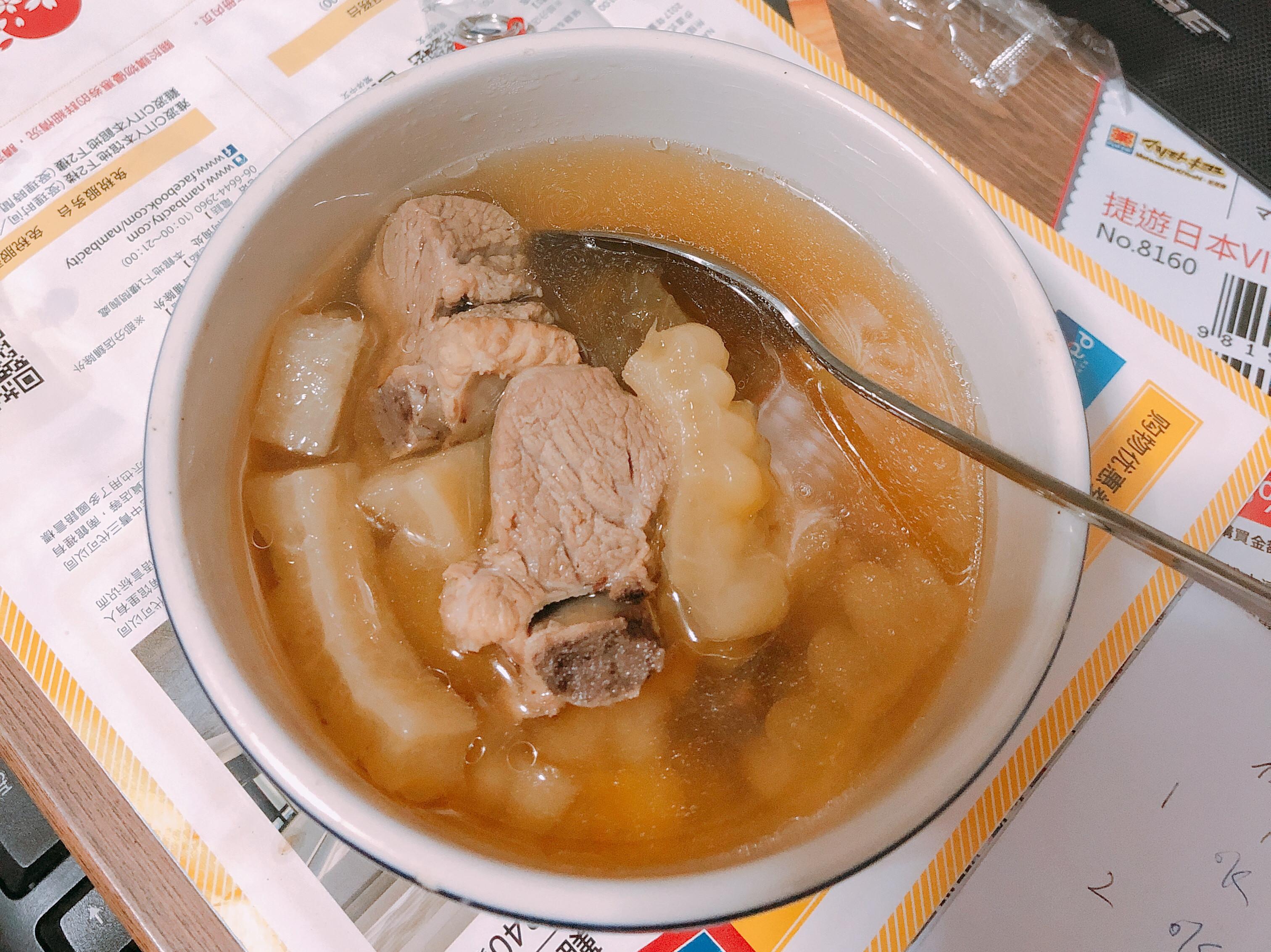 吃苦當吃補~苦瓜排骨湯